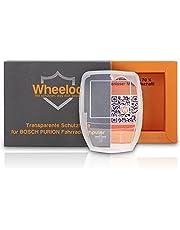 Wheeloo Przezroczyste etui ochronne do urządzenia Bosch Purion 100% przezroczyste I ochrona przed zarysowaniami i wodą I ochrona wyświetlacza roweru elektrycznego