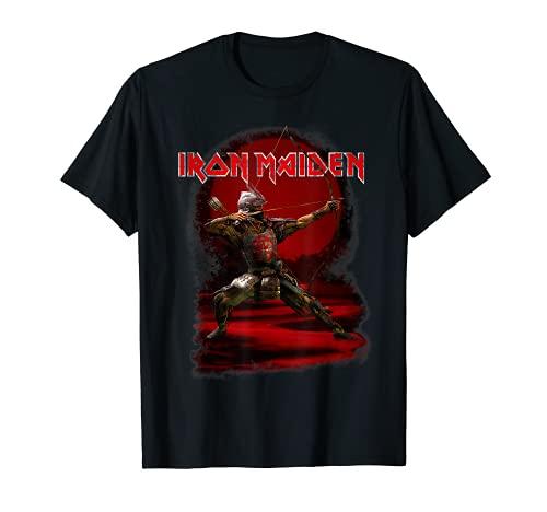 Iron Maiden - Senjutsu Eddie Red Archer Camiseta