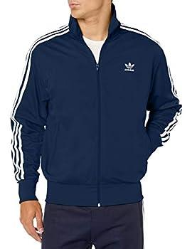 adidas Originals mens Firebird Track Jacket Collegiate Navy/White X-Large