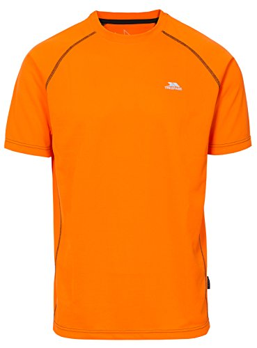 Trespass - Ethen - T-shirts sport - Homme - Orange - Taille: XXS