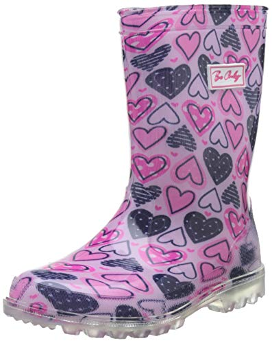 Be Only Mädchen Heart Flash Gummistiefel, Pink (Rose Rose), 23 EU