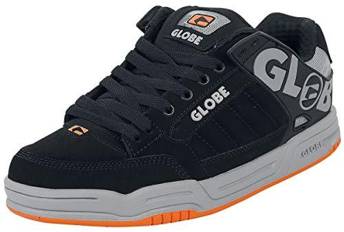 Globe Herren Tilt Skateboardschuhe, Schwarz (Black/Grey/Orange 20087), 40 EU