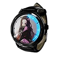 2021年新人時計漫画アニメデーモンブレードースファッショントレンド時計カジュアルクォーツ時計学生時計ペア時計-A2