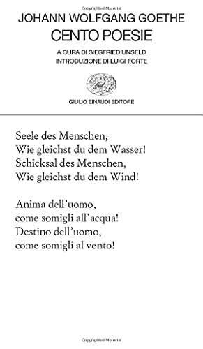 Cento poesie: Scelte da Siegfried Unseld