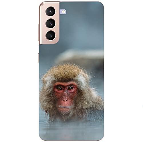Funda blanda para teléfono móvil con diseño de AFFE en el lago para Samsung, Apple, Xiaomi, Huawei, Honor Nokia One Plus, Oppo ZTE, Google, tamaño: Samsung S7 Edge