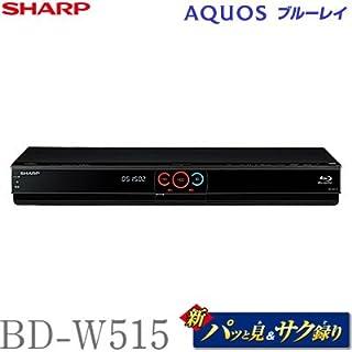 シャープ 500GB 2チューナー ブルーレイレコーダー AQUOS BD-W515