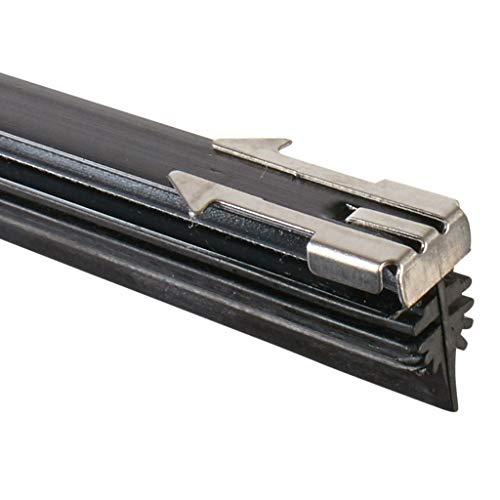 Scheibenwischerblätter mit Mehrfach-Wischkante | Bügelscheibenwischer vorne & hinten individuell kürzbar | AdlerVision Scheibenwischer 70 cm 2er Set