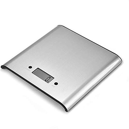 Hojkl Profi Haushaltswaage Bewegliche Multifunktionsküchenwaage Backzutaten Lebensmittel Mehl Skala West Point-Skala Genaue Messung (Color : Silver, Size : 5KG)