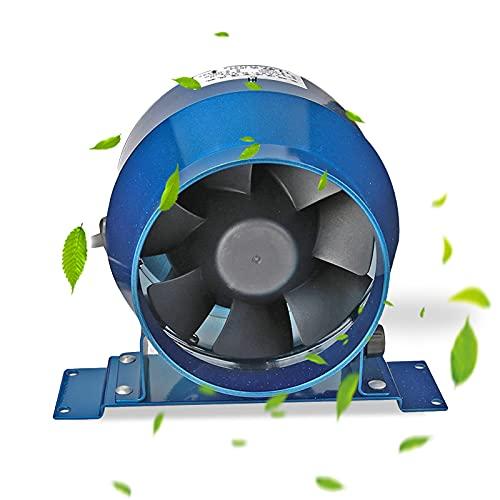 """Ventilador de conducto en línea de 4 """"160CFM, ventilador extractor en línea Ventilación Extractor de aire que se utiliza para calefacción, refrigeración, ventilación de uso doméstico y extractor"""
