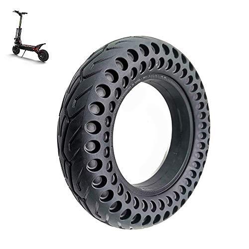 Neumáticos para patinetes eléctricos, 10 Pulgadas 10X2.50 Neumáticos sólidos a Prueba de explosiones en Forma de Panal, Antideslizantes Resistentes al Desgaste de Alta Elasticidad, Accesorios para n