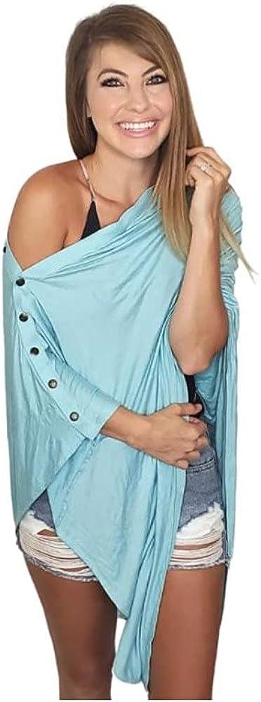 Zalamoon Luxury Infinity Shawl Infinite to In a Super popular specialty store popularity Ways Poncho Wrap Wear