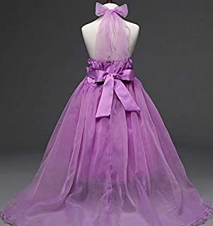 Purple Mixed Special Occasion Dress For Girls