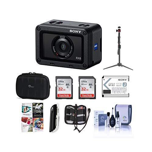 Sony RX0 Ultra-Compact Waterproof Digital Camera...