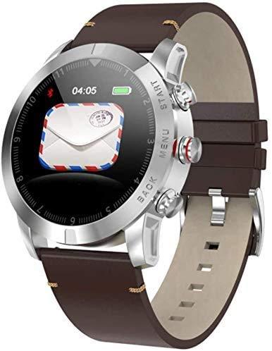 JIAJBG Fitness Tracker S10 Smart Business Pulsera/Monitoreo de Ritmo Cardíaco Pulsera Sports Watch una Variedad de Relojes de Monitoreo Deportivo Pantalla Táctil Impermeable Bluet