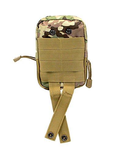 Shark armée tactique militaire Sac banane Pochette armée extérieur Gadget Mag Pochette de ceinture Sac de déploiement Mbb015