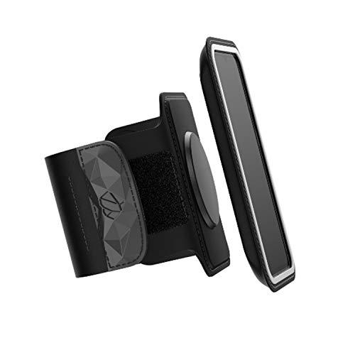Shapeheart mit universell abnehmbarer Hülle für Handys M bis 15cm, Schwarz, 1700UA1-01