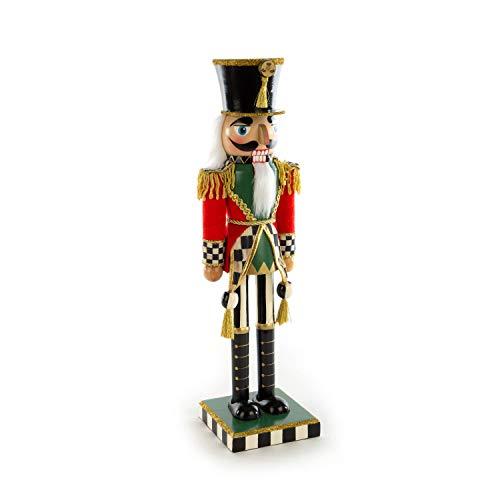 MacKenzie-Childs Highland Nutcracker, Holiday Figures, Christmas Decorations
