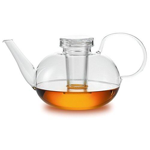 Schott Zwiesel Jenaer Glas - Teekanne - Designklassiker - von Wilhelm Wagenfeld - Bauhaus Teekanne - Glas - 1,5 Liter