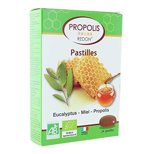 Propolis Redon Pastilles Eucalyptus Miel Propolis Bio 24 Pastilles