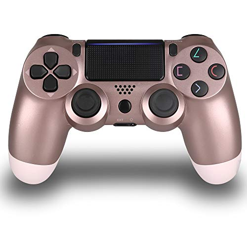 Wireless Controllers for PS4, Wireless Remote Control for Sony Playstation 4, YU33 PS4 Joystick Gamepad for PS4 Controller with Dualshock and Charging Cable, 3rd-Party Works