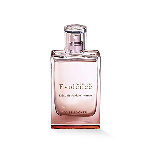 Yves Rocher COMME UNE EVIDENCE Eau de Parfum Intense, blumiges Parfüm mit Rose, weißen Hölzern & Jasmin, Geschenk-Idee, 1 x Zerstäuber 50 ml