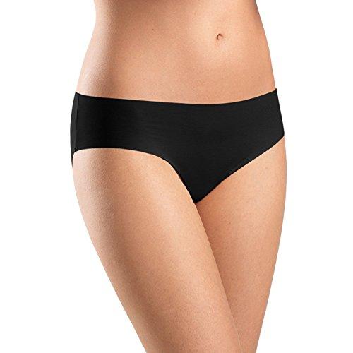 Hanro Damen Slip Invisible Cotton, Schwarz (Black), 42/44 EU (Herstellergröße: M)