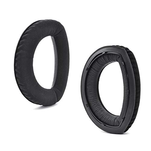 Defean Replacement HD700 Ear Pads Earpad Earmuff Cup Foam Cushion Hoops Compatible with Sennheiser HD700 HD 700 Headphones (Black Ear Pads)