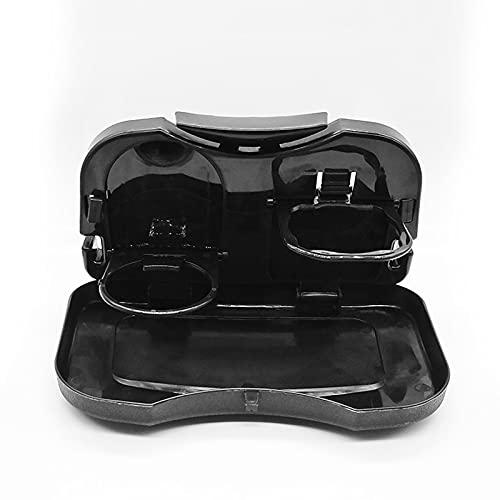 Kaijia Mesa plegable del asiento trasero del coche plástico bebida estante taza titular bandeja soporte escritorio
