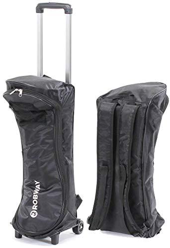 Robway Original Hoverboard W3 Trolley Rucksack Tragetasche - Höhenverstellbar - Wasserabweisend - Leichtlaufrollen