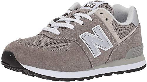 New Balance Unisex-Kinder GC574GG Core Lace Sneaker Grau Grey Gg, 37 EU