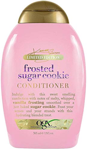 OGX Haircare - Limited Edition - Frosted Sugar Cookie - Shampoo & Conditioner Set - Net Wt. 13 FL OZ (385 mL) Per Bottle - One Set