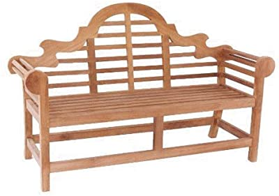Amazon Com Goldenteak Teak Marlboro Lutyens Bench 3
