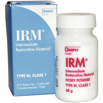 IRM Intermediate Restorative Material – Powder Refill, 38 g Bottle