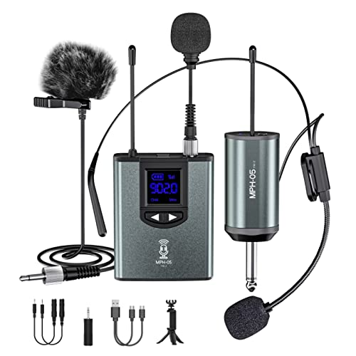 Microphone System Headset Mic/Stand Mic/Lavalier...