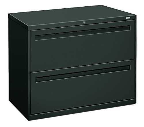 HON 782LS 700 Series 36 by 19-1/4-Inch 2-Drawer Lateral File, Charcoal