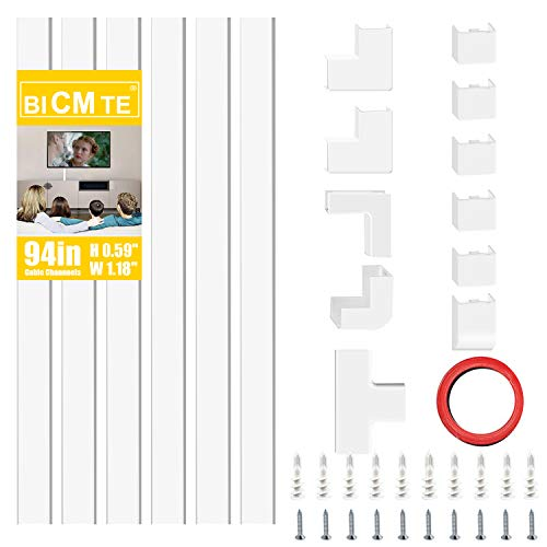 Kabelkanäle PVC Kabelabdeckung TV Wand Kabel Organizer Verstecken Kabelhülle