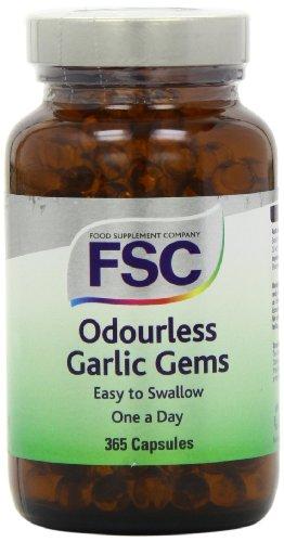 FSC One A Day Garlic Gems 365 Capsules