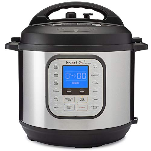 Instant Pot Duo Nova 7-in-1 Electric Pressure Cooker, Slow Cooker, Rice Cooker, Steamer, Saute, Yogurt Maker, and Warmer|6 Quart|Easy-Seal Lid|14 One-Touch Programs