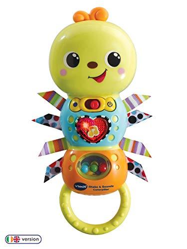 Vtech 527803 Baby Shake & Sounds Raupe, Mehrfarbig
