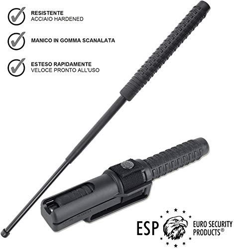 ★ ESP - Euro Security Product ★ Euro Security Products è uno dei principali produttori mondiali di prodotti per la difesa. Tutti i prodotti sono realizzati con materiali di alta qualità e garantendo un'elevata affidabilità.I prodotti ESP sono utiliz...