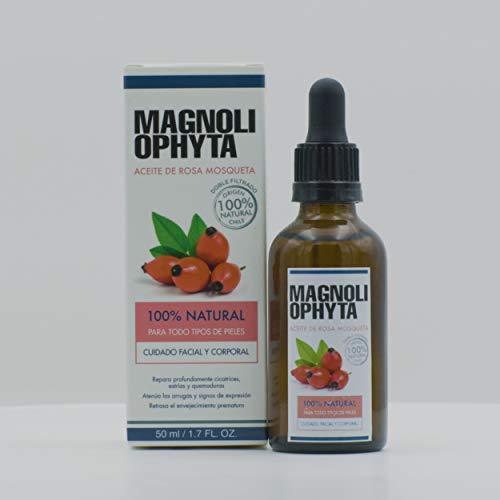 Magnoliophyta Aceite de Rosa Mosqueta Puro, Facial y Corporal, Todo Tipo de...
