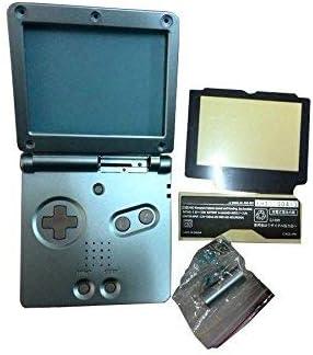 Capa de substituição OSTENT compatível com Nintendo GBA SP Gameboy Advance SP - cor azul claro