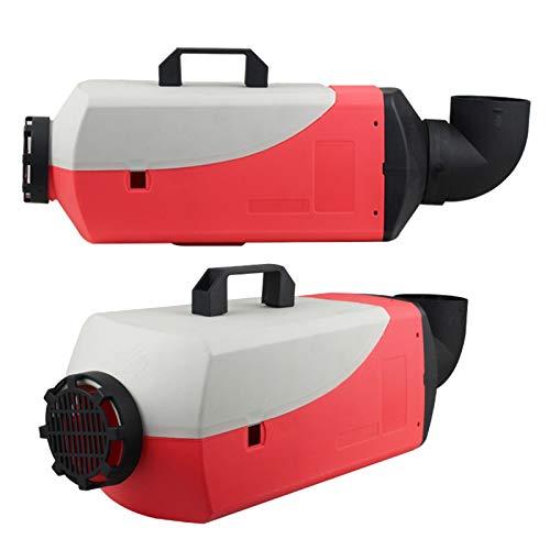 Calentador diésel 12V 5KW Calentador de aire diésel,con termostato LCD Monitor Control remoto Calentador diésel para camiones Barco Touring Car Bus