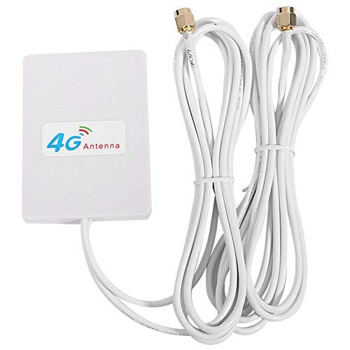 SNOWINSPRING 4G / 3G Antena WiFi 28Dbi LTE Antena Amplificador De Se?al 4G / 3G Router Móvil Antena WiFi Antena De Banda Ancha (SMA)