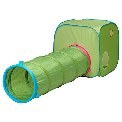 IKEAイケアBUSA子供用テント(長さ:72cm幅:72cm高さ:72cm,グリーンブルー)