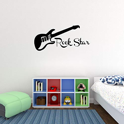 Guitar Decal Sticker Bedroom Children