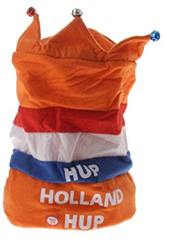 Anhänger Hut hup Holland hup 35cm Orange
