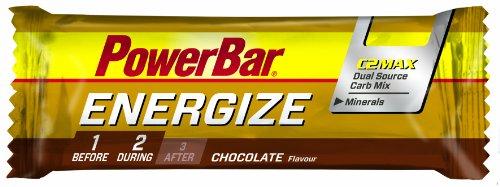 Powerbar Energize Schokolade Riegel, 5er Pack (5 x 55 g)