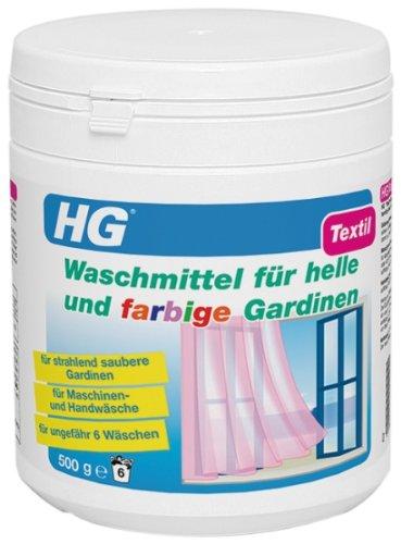 Preisvergleich Produktbild HG Waschmittel für strahlend weiße Gardinen