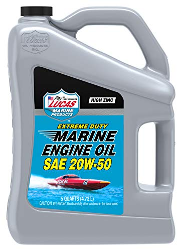 Extreme Duty Marine Engine Oil, SAE 20W-50, 5 Quart